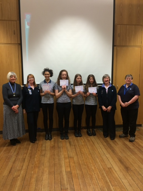 LOCAL GUIDES CELEBRATE RECEIVING THE HIGHEST AWARD FOR GUIDES